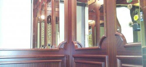 Revestiment interior ascensor Hotel Palace de Barcelona